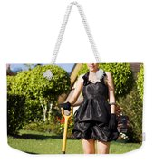 Do It Yourself Gardening Lady Weekender Tote Bag