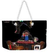 Doc Holliday Teaching Faro Crystal Palace Saloon Tombstone Arizona 2004  Weekender Tote Bag