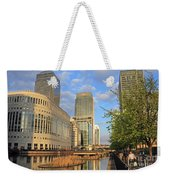 Docklands London Weekender Tote Bag