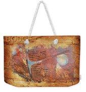 Dodge In Rust Weekender Tote Bag