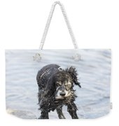 Dog Shake Weekender Tote Bag