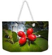 Dogwood Berries Weekender Tote Bag