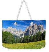 Dolomites - Catinaccio Mount Weekender Tote Bag