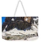 Dolomites - Pisciadu Peak Weekender Tote Bag