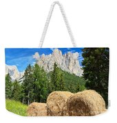 Dolomiti - Alpine Pasture Weekender Tote Bag