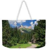 Dolomiti - Fassa Valley Weekender Tote Bag