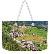 Dolomiti - Laste Village Weekender Tote Bag