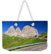 Dolomiti - Sella Pass Weekender Tote Bag