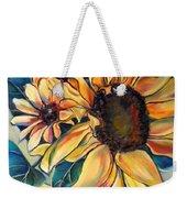 Dooley's Sunflowers Weekender Tote Bag
