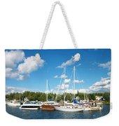 Door County Harbor Weekender Tote Bag