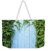 Door Framed By Plants Weekender Tote Bag