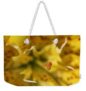 Double Asiatic Lily Named Fata Morgana Weekender Tote Bag