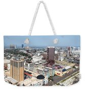 Downtown Atlantic City Weekender Tote Bag