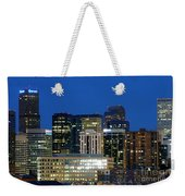 Downtown Denver At Dusk Weekender Tote Bag