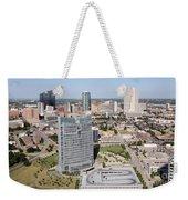 Downtown Fort Worth Skyline Weekender Tote Bag
