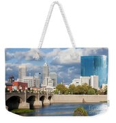 Downtown Indianapolis Indiana Weekender Tote Bag