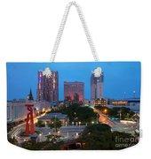 Downtown San Antonio Texas Skyline Weekender Tote Bag