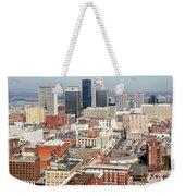 Downtown Skyline Of Louisville Kentucky Weekender Tote Bag