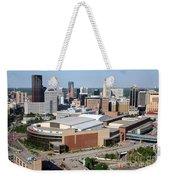 Downtown Skyline Of St. Paul Minnesota Weekender Tote Bag