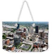 Downtown Skyline Of Toledo Ohio Weekender Tote Bag