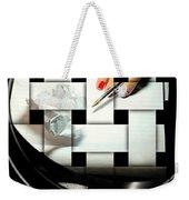 Draft Weekender Tote Bag by Diana Angstadt