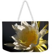 Dragon Fruit Blossom In Profile Weekender Tote Bag