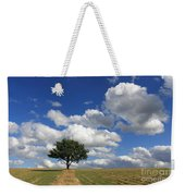 Dramatic Clouds And The Tree Weekender Tote Bag