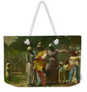 Dressing For The Carnival Weekender Tote Bag by Winslow Homer