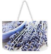 Dried Lavender Weekender Tote Bag