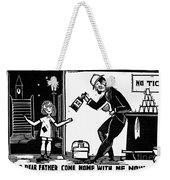 Drinking, C1925 Weekender Tote Bag