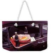 Drive-in Coke And Burgers Weekender Tote Bag