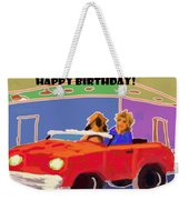 Driving Miss Daisy Weekender Tote Bag