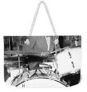 Drummer Gene Krupa Weekender Tote Bag