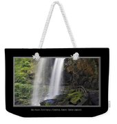 Dry Falls North Carolina Weekender Tote Bag