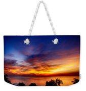 Dry Season-sunset Weekender Tote Bag