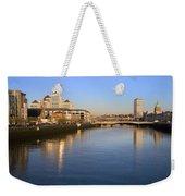 Dublin At Dawn Weekender Tote Bag