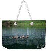Duck Pond Weekender Tote Bag