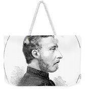 Duke Of Connaught (1850-1942) Weekender Tote Bag