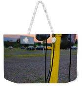 Dusk At The Drive In Movie Weekender Tote Bag