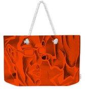 E Vincent Orange Weekender Tote Bag