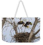 Eagle Nest Weekender Tote Bag