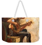 Eakins' Study For Negro Boy Dancing -- The Banjo Player Weekender Tote Bag