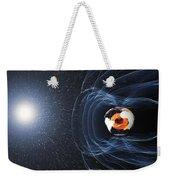 Earths Magnetic Field Weekender Tote Bag