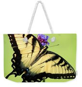 Eastern Tiger Swallowtail Butterfly Square Weekender Tote Bag