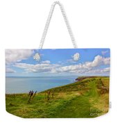 Edge Of The World Weekender Tote Bag by Jeremy Hayden