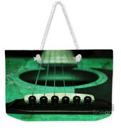 Edgy Abstract Eclectic Guitar 15 Weekender Tote Bag