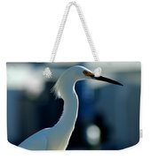Egret Of Matlacha 2 Weekender Tote Bag