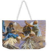 Egyptians Raising Water From The Nile Weekender Tote Bag