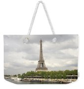 Eiffel Tower And The Seine Weekender Tote Bag