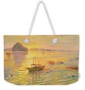 El Nido Sunrise Weekender Tote Bag